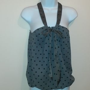 3 for $25- American Eagle Polka Dot Blouse Size S